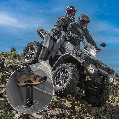 Подножки универсальные для ATV Kemimoto B0107-01101BK