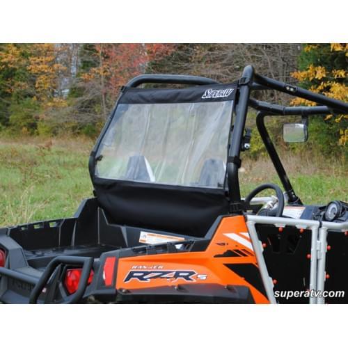 Стекло заднее виниловое Super ATV для Polaris RZR 570/800/900
